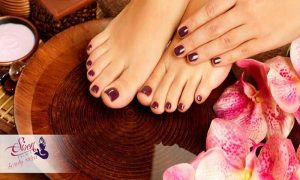 Classic or Gelish Manicure and Pedicure at  Siren Palace Beauty Salon and Training Center - Dubaisavers