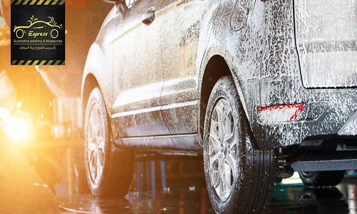 Steam Wash Services from Express Automotive Polishing & Accessories - Dubaisavers