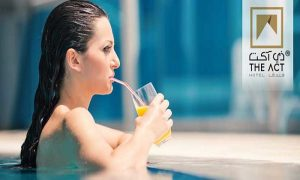 5-Star Breakfast Buffet and Pool Access at The Act Hotel - Dubaisavers