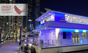 Dubai Marina Luxury Catamaran Cruise by Unique Desert Tourism - Dubaisavers