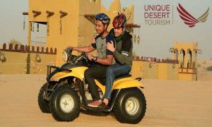 Evening Desert Safari with BBQ Dinner & More by Unique Desert Tourism - Dubaisavers