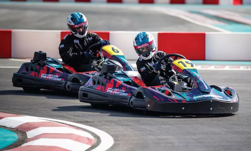 15-Minute Drift Go-Karting Experience at Drift Zone - Dubaisavers