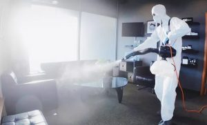 Home or Office Sanitising Mist Application by Al Kubara Disinfection and Sterilization Services - Dubaisavers