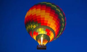 Hot Air Balloon Ride with Optional Falcon Show at Sindbad Gulf Balloons - Dubaisavers
