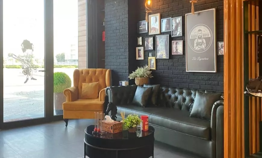 Boy's or Men's Hairstyling and Pamper Packages from The Signature Barber - Dubaisavers