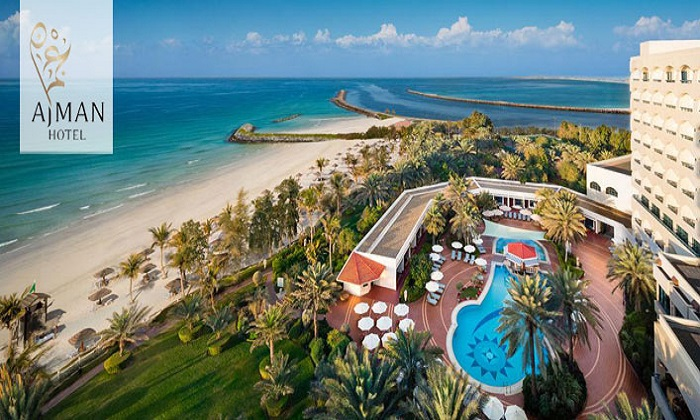 5* Staycation Packages For 2 at Ajman Hotel - Dubaisavers