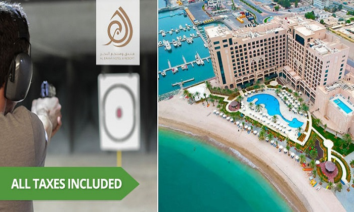 1-Night Staycation & Shooting Sports Activity at Al Bahar Hotel and Resort - Dubaisavers