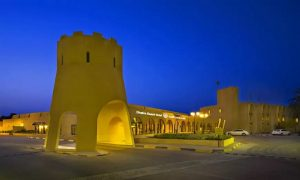 One-Night Stay with Breakfast and Half Board at Dhafra Beach Hotel - Dubaisavers