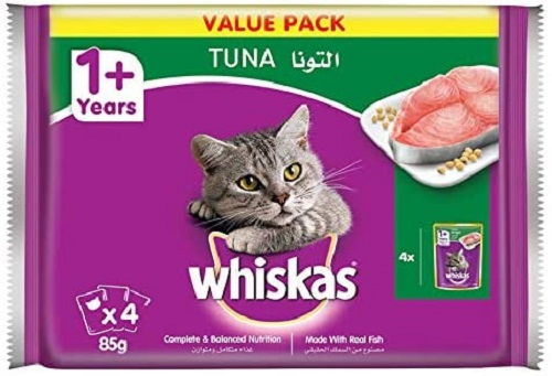 Whiskas Tuna in Jelly, Pouch for Adult Cat - Dubaisavers