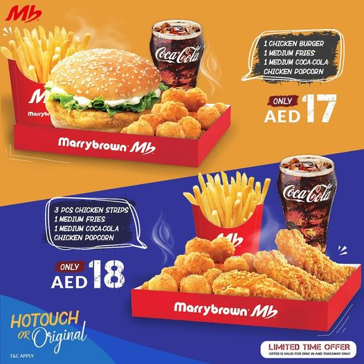 Marrybrown Limited Period offer - Dubaisavers
