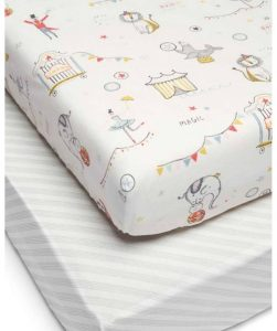 Cotbed Fitted Sheets (Pack of 2) - Dubaisavers