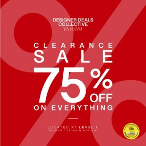 Burjuman announces Clearance Sale offering FLAT 75% discounts! - Dubaisavers