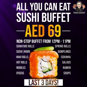 Sushi Nations All you Can Eat Ramadan offer - Dubaisavers