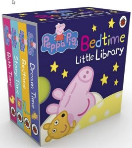 Peppa Pig: Bedtime Little Library Children English Story Book - 4 books collection - Dubaisavers